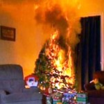 Decorate Chrismas tree safely