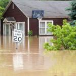 Storm - flood damage