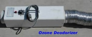 Ozone Machine Odor Removal