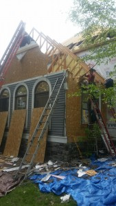 Tree wind home damage repair
