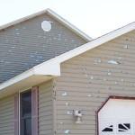 Hail damage property damage repair