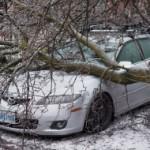Michigan ice damage