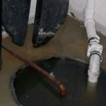 Sump pump - emergency service