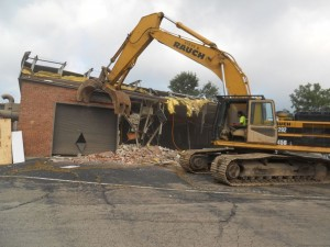 Structural Demolition - Commercial Building